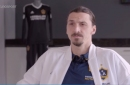Manchester United hero Zlatan Ibrahimovic's brilliant response to World Cup ban claims