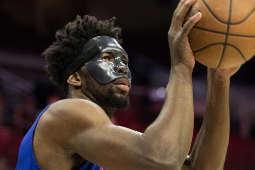 Joel Embiid is officially OUT for Game 1