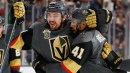 Vegas' Carrier on Doughty hit: 'It was kind of lucky it was me'