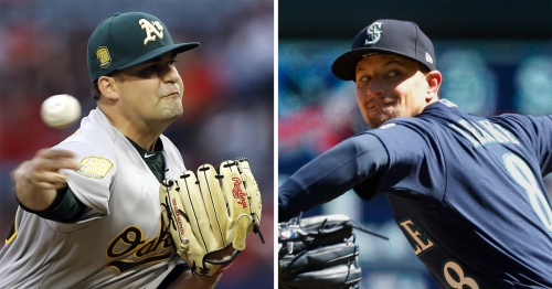 Mariners vs. Athletics: Live updates as M's open homestand with Mike Leake on the mound