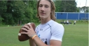 WATCH: Trevor Lawrence throws 50-yard touchdown on first series in Clemson spring game