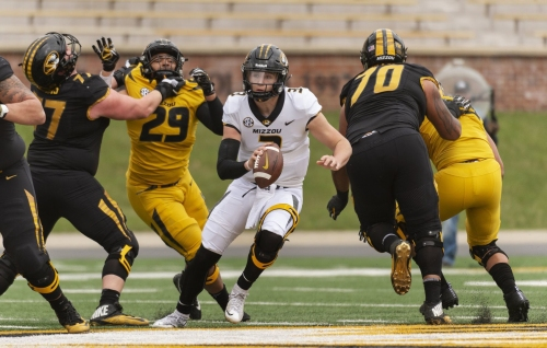 Mizzou offense shows glimpses of firepower in spring game