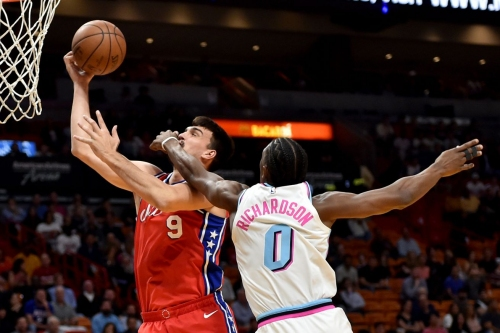 Heat at 76ers: Game 1 Thread