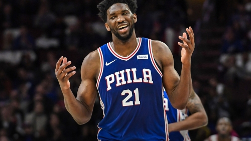 Joel Embiid likes his chances of playing in Game 2 or 3