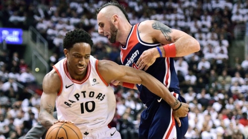 Raptors win first Game 1 in 17 years