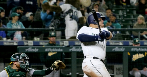 Mariners manager Scott Servais on a 10-8 win: 'There was a lot of hitting going on out there tonight'