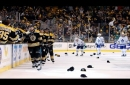 David Pastrnak, Boston Bruins wing, broke record held by Wayne Gretzky in historic Game 2 performance