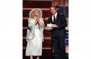 Drew Brees co-presents Miranda Lambert with ACM award