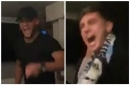 Man City captain Vincent Kompany leads rowdy pub party as Blues are crowned champions