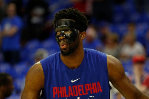 Sixers' Joel Embiid to remain sidelined for Game 2
