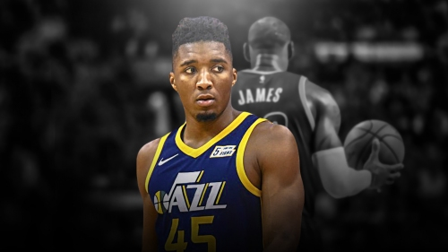 Donovan Mitchell becomes the first since LeBron James to have 25 points, 10 rebounds in playoff debut
