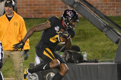 Missouri's J'Mon Moore is another mid-round WR to watch for the Packers