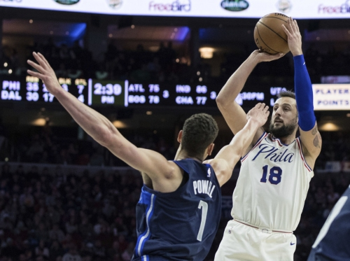 76ers' Brown hit recruiting trail to get Belinelli and Ilyasova