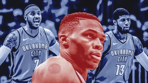 Did Carmelo Anthony, Paul George prevent Russell Westbrook from winning MVP?