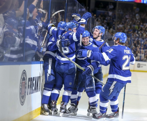 All Eyes: Lightning strikes at the Stanley Cup