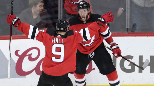Taylor Hall has goal, 2 assists as Devils rally past Lightning