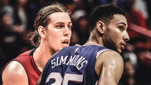 Video: Kelly Olynyk appears to have attempted an elbow swing on Ben Simmons' head