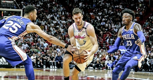 Video: Goran Dragic infuriates Sixers fans with final basket