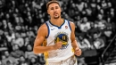 Video: Stephen Curry celebrates Klay Thompson's shot even before it went it
