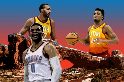 Can the suffocating Jazz put out Russell Westbrook's relentless fire?