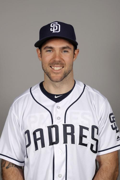 Matt Szczur gets on base as pinch-hitter for Padres vs. Dodgers