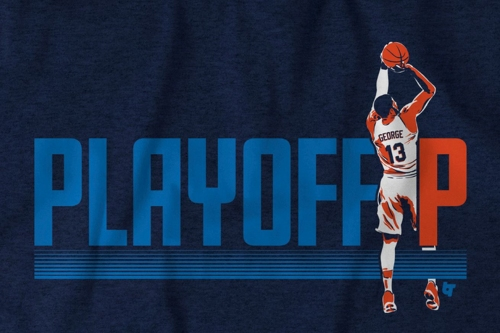 Get your Paul George 'Playoff P' shirt