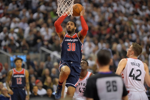 Wizards coach hints Mike Scott 'might' replace Marcin Gortat in starting lineup