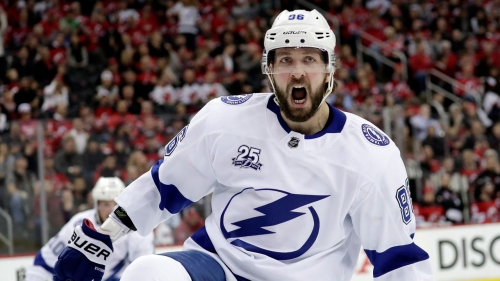 Kucherov leads the way as Lightning take 3-1 lead over Devils