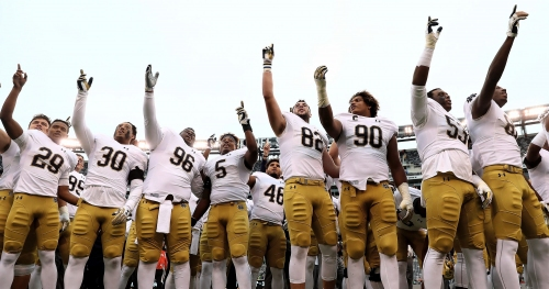 Notre Dame football releases format for 2018 spring game