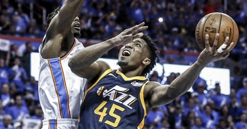 Donovan Mitchell becomes first rookie since 1996 with 25+ points in first 2 playoff games