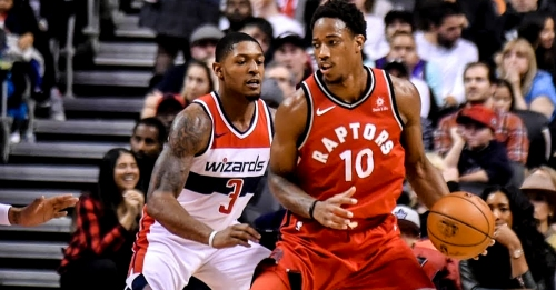 DeMar DeRozan ties playoff career-high in Raptors' Game 2 win