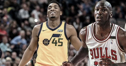 Donovan Mitchell, Michael Jordan only rookies with 53+ points in their first 2 playoff games