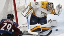 Forsberg, Rinne help Predators beat Avalanche in Game 4