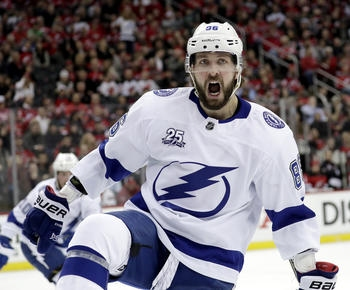 Kucherov leads way as Lightning take 3-1 lead over Devils