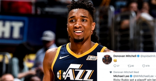 Donovan Mitchell low key trolls Timberwolves after Game 2 win