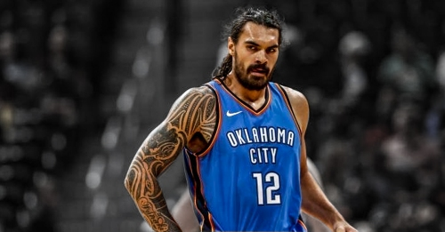Steven Adams says he's not dealing with any injury