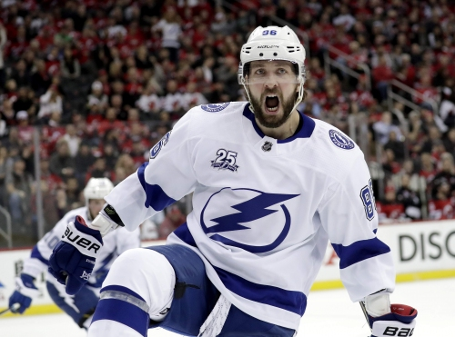 Sports Day Tampa Bay podcast: Nikita Kucherov drives Lightning past Devils