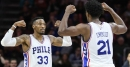 Robert Covington recalls Joel Embiid being terrified by his pet snake