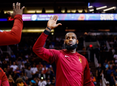 LeBron James knows his responsibility to sports journalism as Erin Popovich question shows