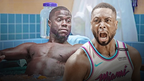 Dwyane Wade says he is not friends with Kevin Hart right now