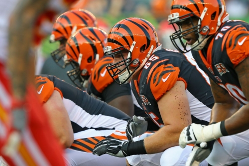 Bengals' new-look offensive line breeding positive vibes from players in offseason workouts