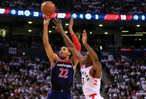 The Raptors have owned first quarters against the Wizards. That's the series.