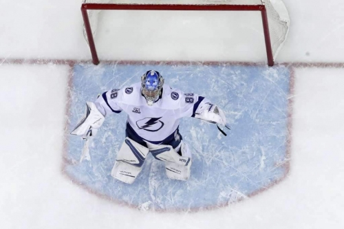 Turns out, Lightning's Andrei Vasilevskiy is ready for the playoffs