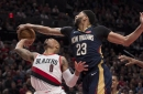 Blazers Trying to Free Lillard Against Pelicans, to No Avail