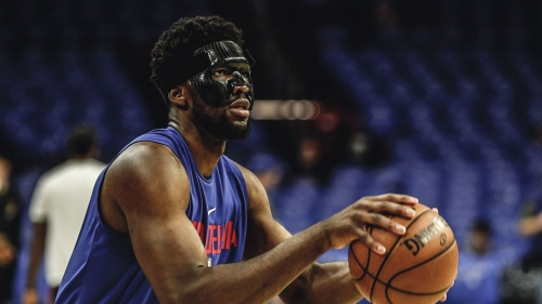 Sixers news: Joel Embiid reveals new mask and goggles for Game 3 vs. Heat