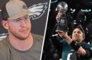 Is Carson Wentz jealous of Nick Foles' Super Bowl success?