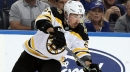 Brad Marchand Scores Off David Pastrnak Pass, Puts Bruins Up 2-1 In Game 4