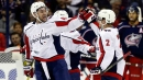 Capitals top Blue Jackets to even series at 2 games each