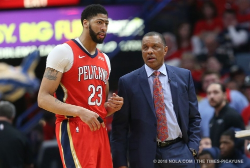 Watch this put-back dunk by Anthony Davis late in Game 3 against Blazers