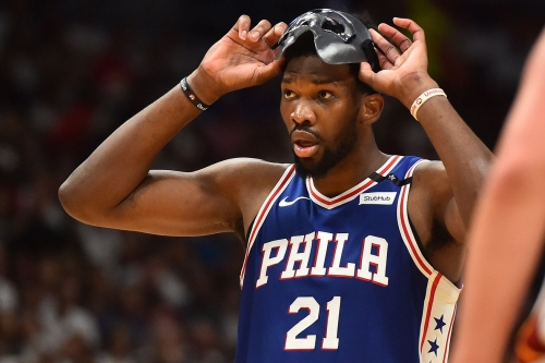 Embiid makes key defensive impact in postseason debut